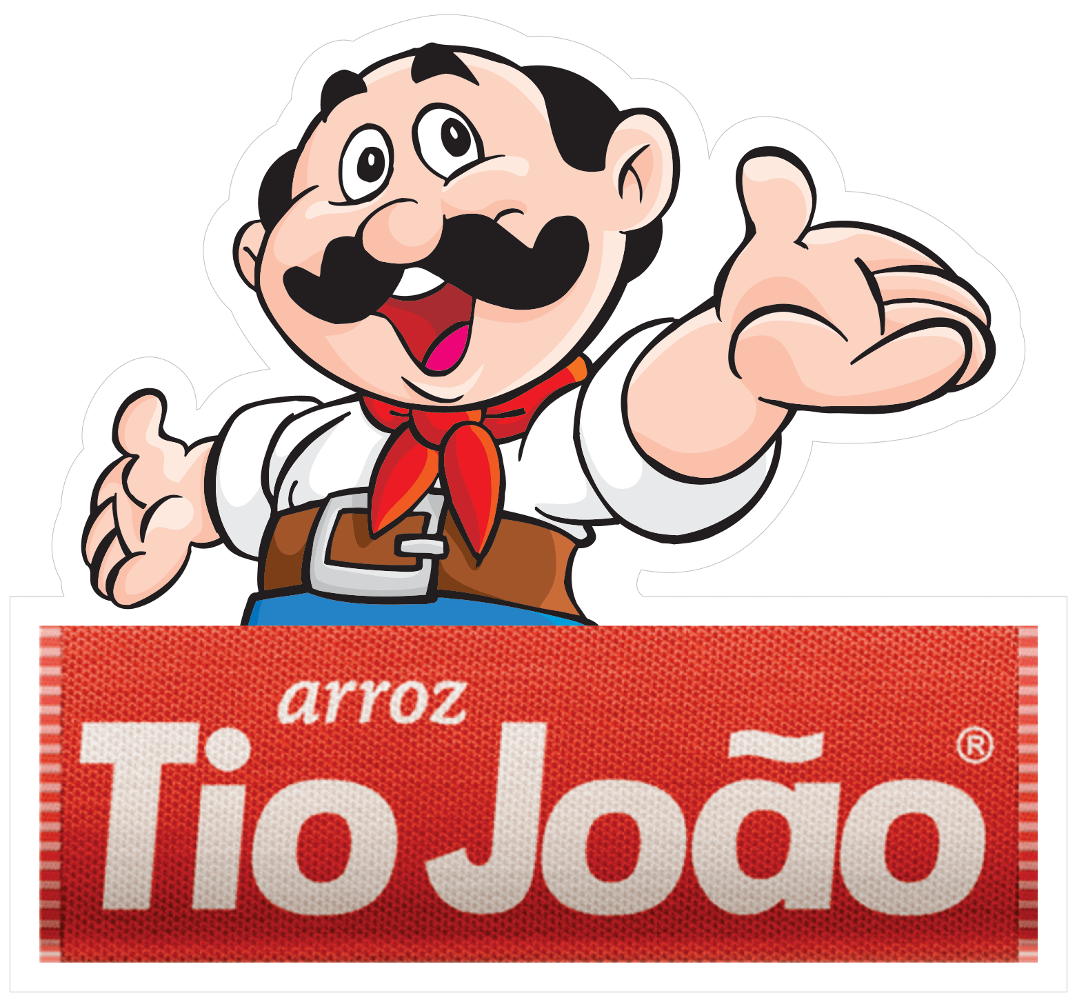 logotipo do tio joão