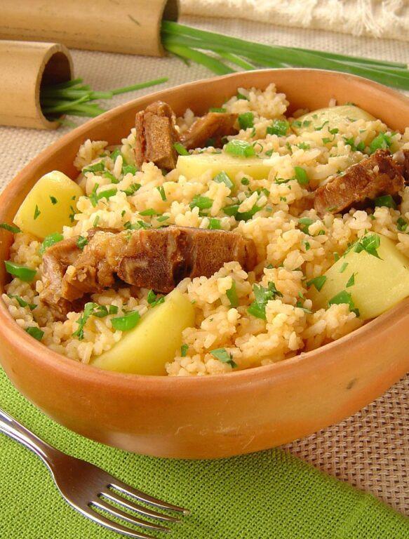 arroz de suã