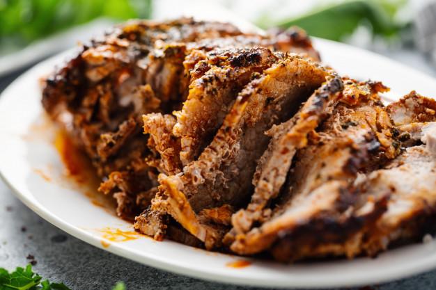 Lombo de Porco com Especiarias
