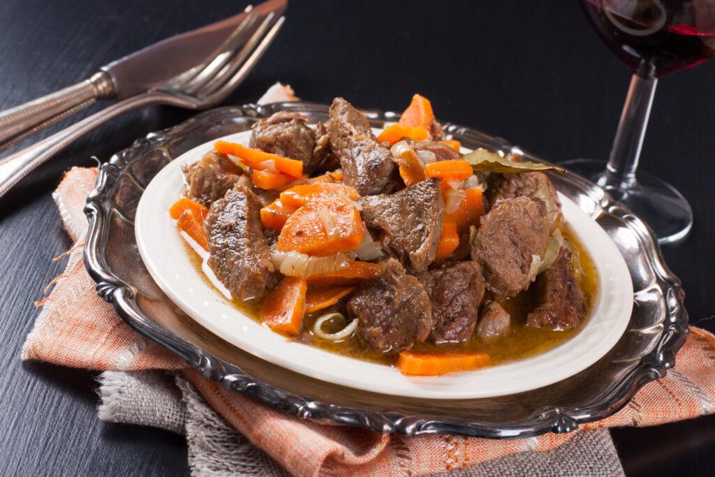Carne de Panela com Cenoura