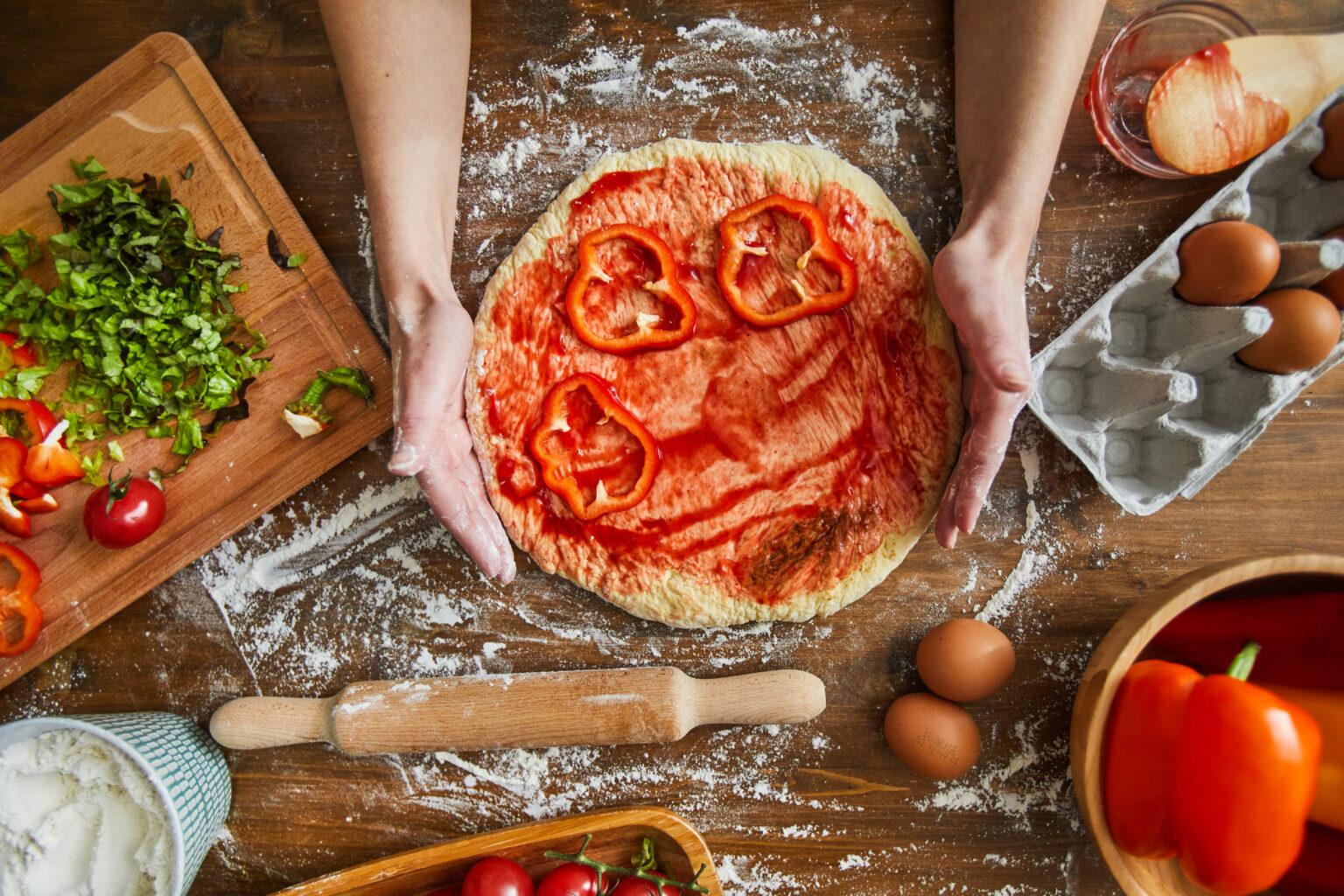 Pizza mais saudável